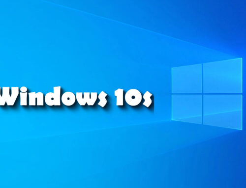 Come sbloccare Windows 10s